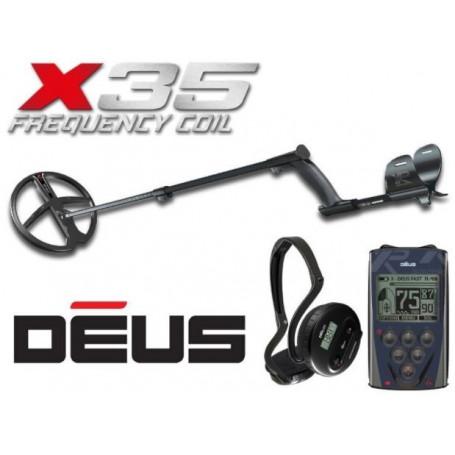Détecteur de métaux - XP DEUS 22RC WS4 X35