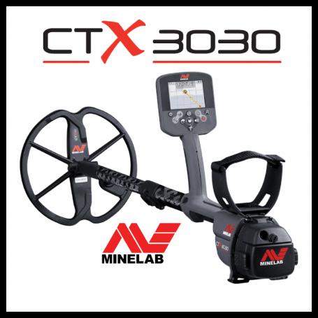 Détecteur de métaux - MINELAB CTX 3030