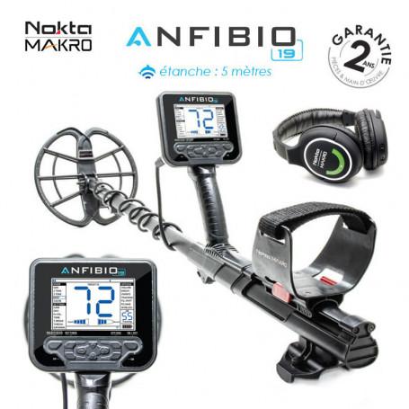 Détecteur de métaux - NOKTA MAKRO Anfibio Multi (5/14/20 kHz)