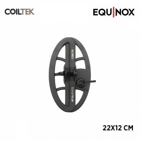 Disque COILTEK pour MINELAB Equinox - 12x22cm DD