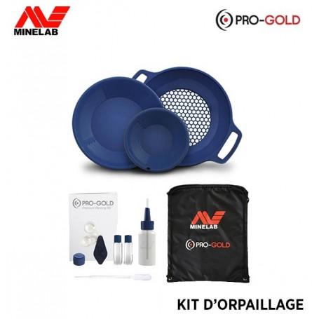 Kit d'orpaillage MINELAB - Pro Gold