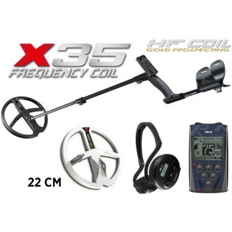 Détecteur de métaux - XP DEUS 28RC X35 - 22HF - WS4