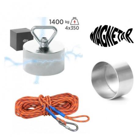 Pack aimant neodyme MAGNETAR BEAST - Protection - Corde 20m diamètre 10mm