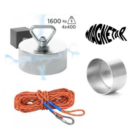 Pack aimant neodyme MAGNETAR BARBARIAN - Protection - Corde 20m diamètre 10mm