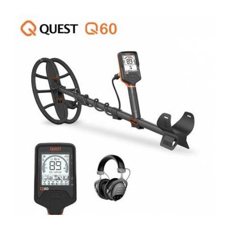 Détecteur de métaux - QUEST Q60