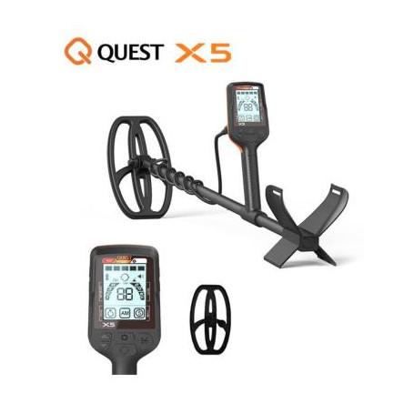 Détecteur de métaux - QUEST X5