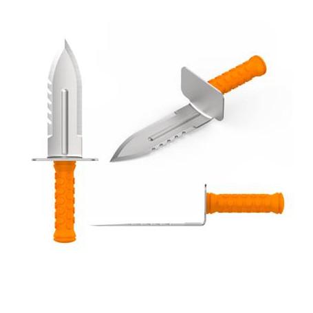 Couteau de fouille DETEKNIX pour droitier